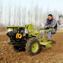 hot sale walking garden gravely two wheel tractor for sale
