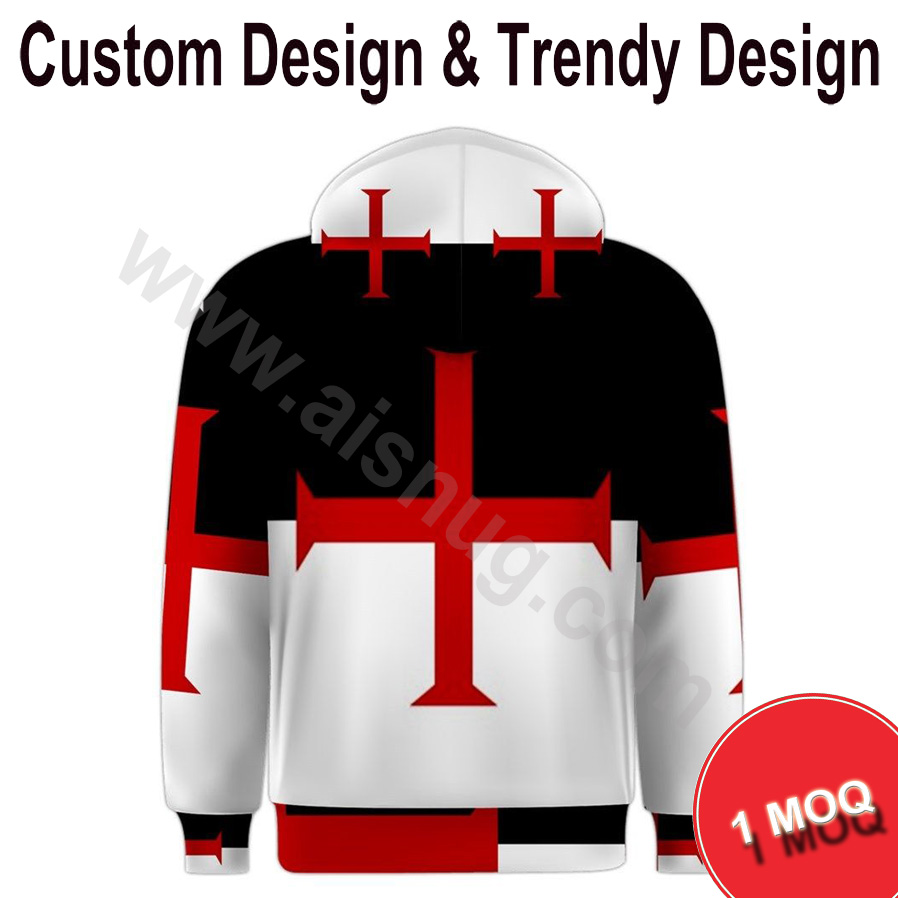 sportswear plain dyed printed 3d hoodies men with hood