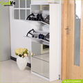 Goodlife mirror shoe rack cabinet with mirror
