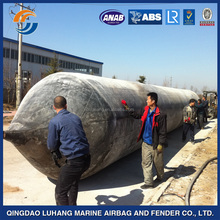 ship/boat/vessel rubber airbag/Inflatable Marine Natural Rubber Air Bags