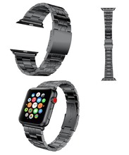 Top quality classic steel bracelet for Apple watch metal band with connector