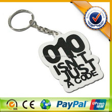 Wholesale Cheap Customized Soft Rubber Key Chain