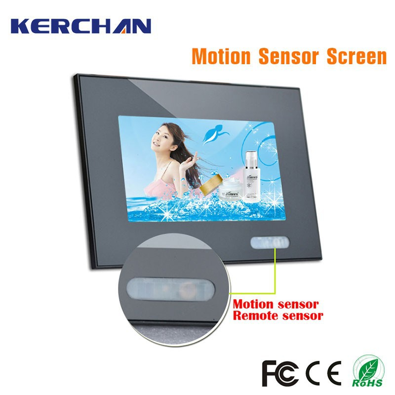 7 inch mini thin touch screen panel ir sensor digital for goods shelf and rack