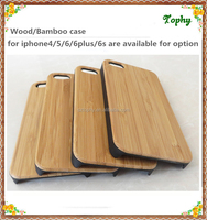 high quality waterproof hot selling free sample bamboo and wood phone case for iphone 5s 6
