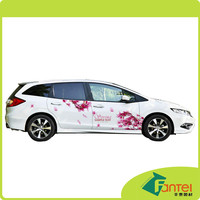 140gsm 100 micron car wrapping self adhesive vinyl