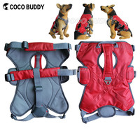 Pet accessories factory dog harness for large dogs outdoor padded waterproof non pull vest dog harness