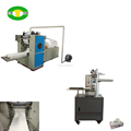 Semi automatic facial tissue carton packing production line