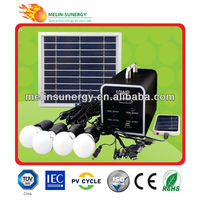 10W home solar panel kit solar lighting kit