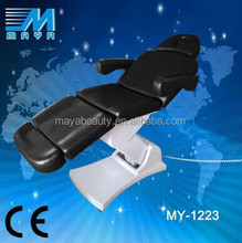 2015 hot sale Electric cosmetic massage bed with 4 motors/facial bed for sale/facial bed with price