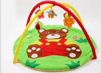 cute teddy bear baby play blanket mat