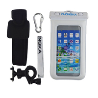 Hot Sale Unbreakable Waterproof PVC Phone Bag Cover with Armband