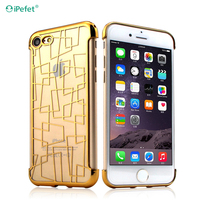Shockproof Protective Cushion Corner Transparent Clear Slim TPU printed Back Cover Case for iphone 6