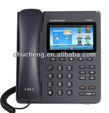 voip poe phone Grandstream GXP2200 android multimedia phone with skype and bluetooth