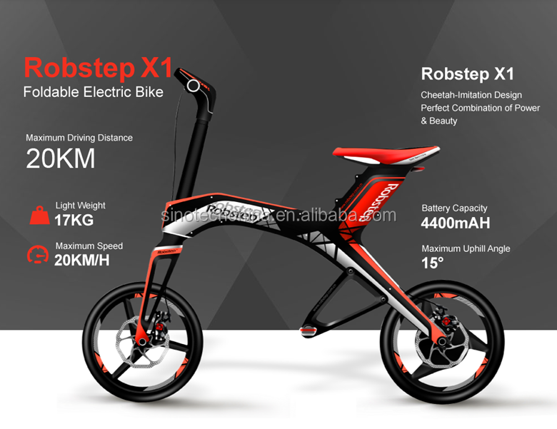 Robstep X1 folding electric scooter