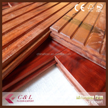 Asian walnut hardwood flooring