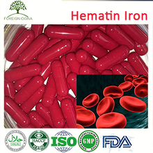 Women Blood Tonic Hemoglobin Powder Hematin Supplement Capsule
