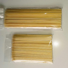 Disposable square bamboo skewer fob bbq