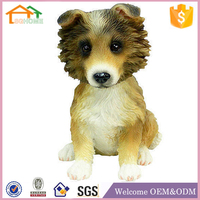 Factory Custom made home decoration polyresin dog bobble head