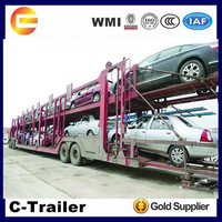 3 axle car carrier semi trailer for sale from China