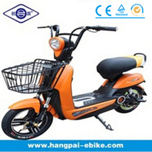 Pedaled electric motorbike with 36V lead-acid battery (HP-632)