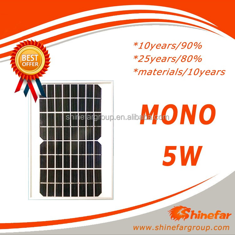 mini solar panel 5v mono 5W for mini solar panel for led light