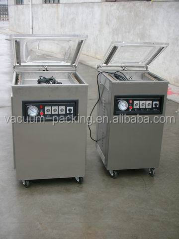 Semi-automatic smoked fish vacuum sealing machine