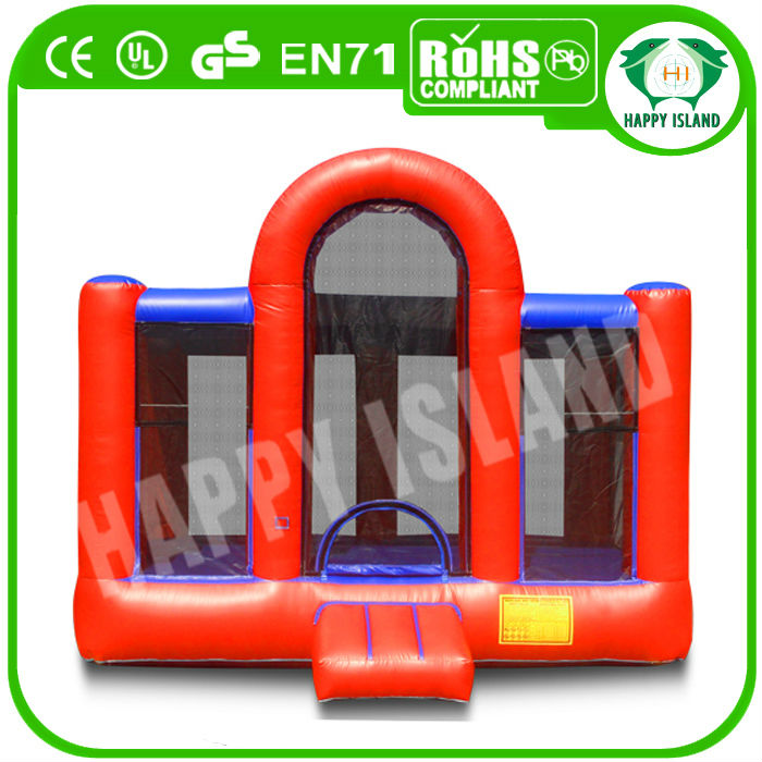 HI CE best selling funny outdoor bouny castle,bouncer land for adult
