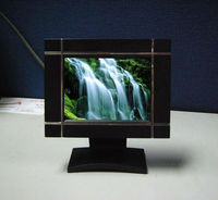 simple function 3.5'' LCD picture frame machine for advertisement