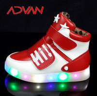2016 Small Order on Line Light LED Shoes for Boys and Girls from China