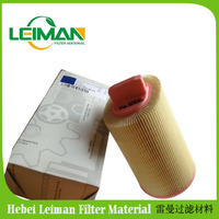 PU and Hight Quality Wood Pulp Paper Car Air Filter A2710940204