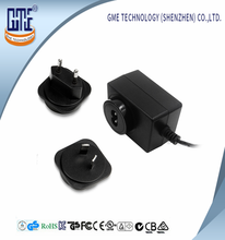 15v 2.4a interchangeable ac adapter