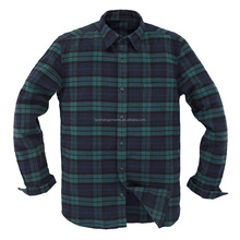 green checked flannel shirt for wholesale flannel shirt