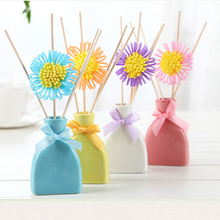 home freshener 4 color ceramic reed diffuser