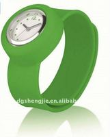 new silicone slap style watch easy wear