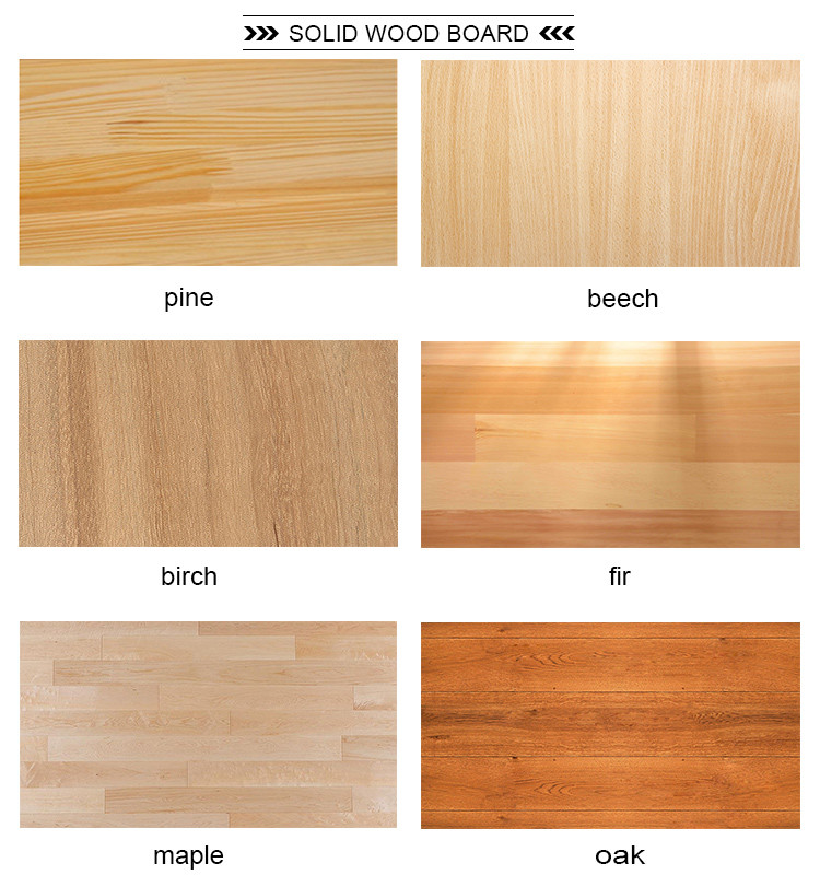 Standard size of pine wood timber cheap wooden slab