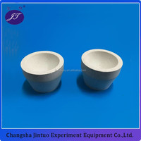 refractory ceramic fire assay magnesite cupels bone ash cupel for sale