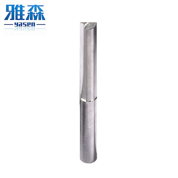 CNC cutting tools Tungsten Carbide router bit straight slot milling cutter with high precision