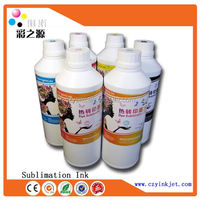High quality professional sublimation ink for Epson DX4 DX5 DX7 printer heat transfer ink