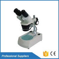 Binocular light microscope wholesale 3d stereoscopic microscope uses for watch repair
