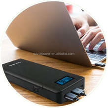 External laptop battery, multi function power pack for all laptops, supporting 12V/16.5V/19V/20V/24V DC output