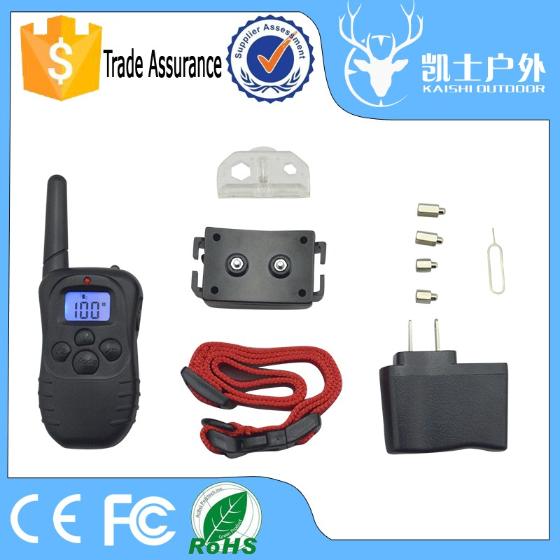 best electronic shock/ vibration/ beep dog training collars with wholesale