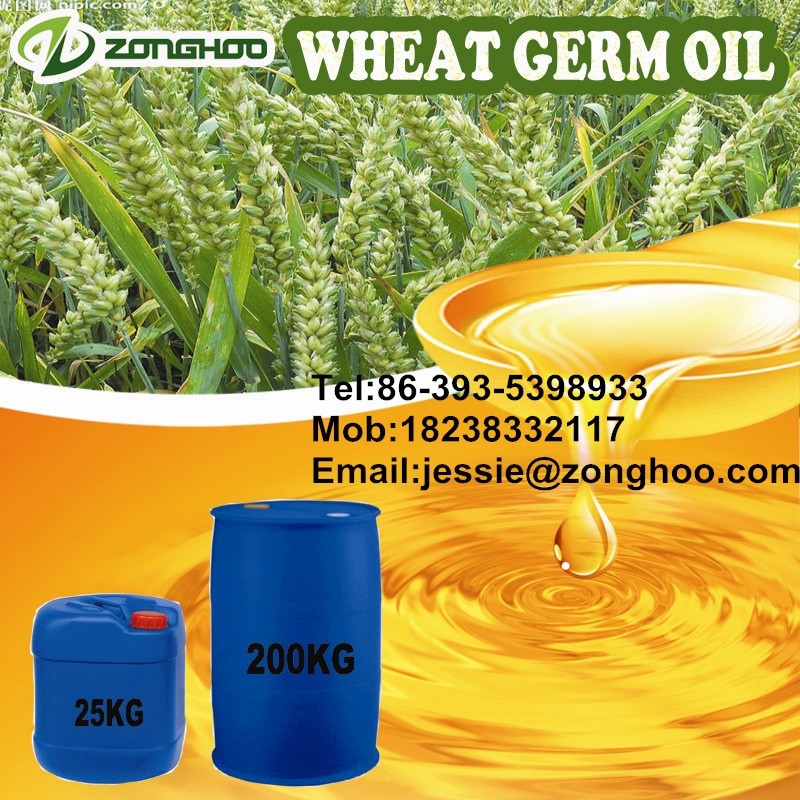 100% cold pressed cholesterol free nature fresh wheat germ oil