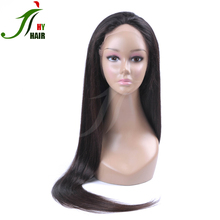 aliexpress hot selling virgin brazilian hair silky straight black men lace front wigs