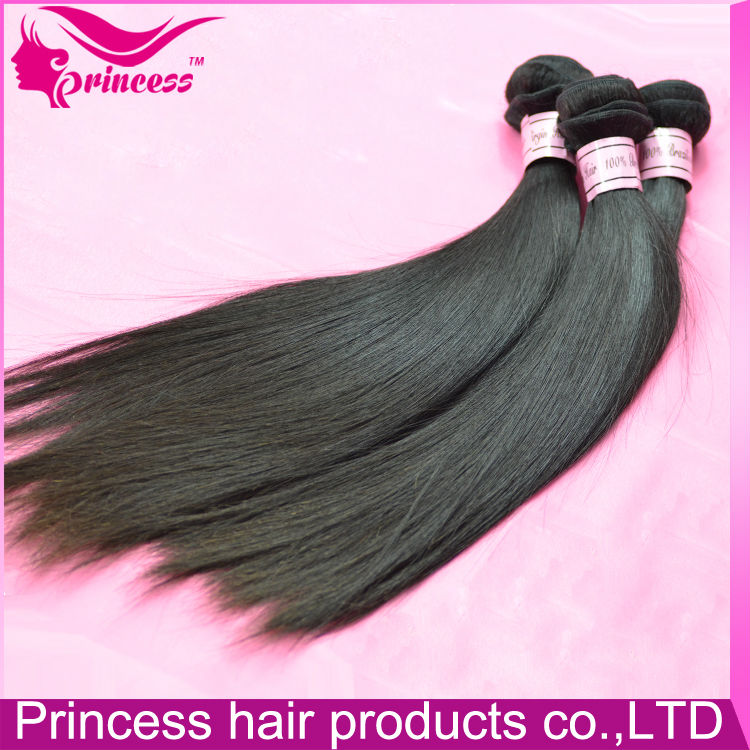 2016 Easily Manageable 5A Grade 100 Human Hair Yaki Straight