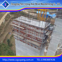 Resuable Steel Formwork For Concrete Project