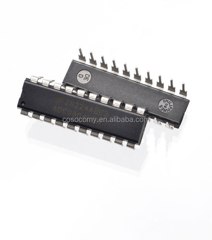 High quality ADCO804LCN 8-bit CMOS successive approximation type A / D converter DIP-20