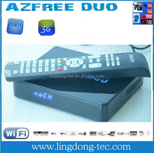 Azfree duo IKS SKS GPRS free internet receiver manufacturer in china factory
