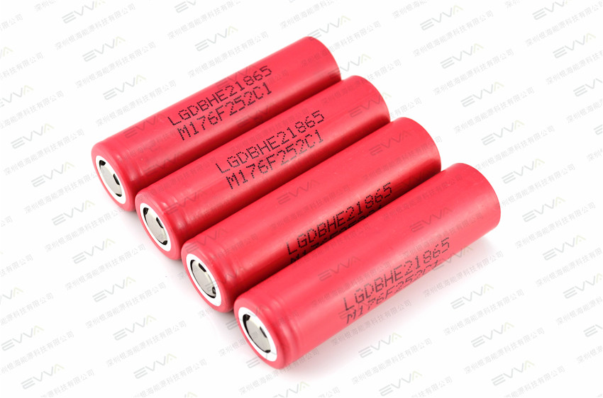 LG 18650 High Drain Li-ion Battery 2500mAh IMR18650 HE2 35A Max. Discharge
