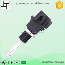 ON-OFF Mini Electric Toggle Switch 2A 250V AC for Table Lamp
