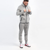 custom mens tech fleece tracksuit fitness clothes